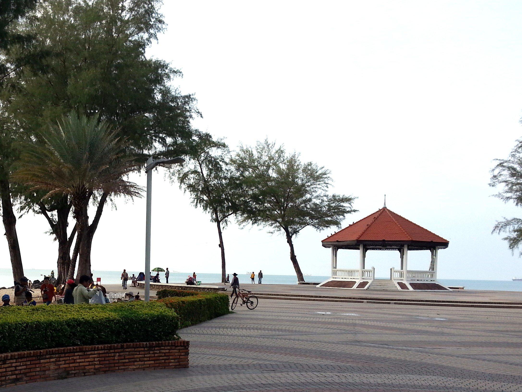 Pavilion on Samila Beach