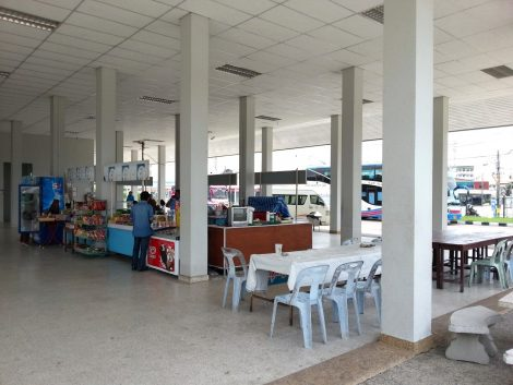 Shops at Songkhla Bus Terminal