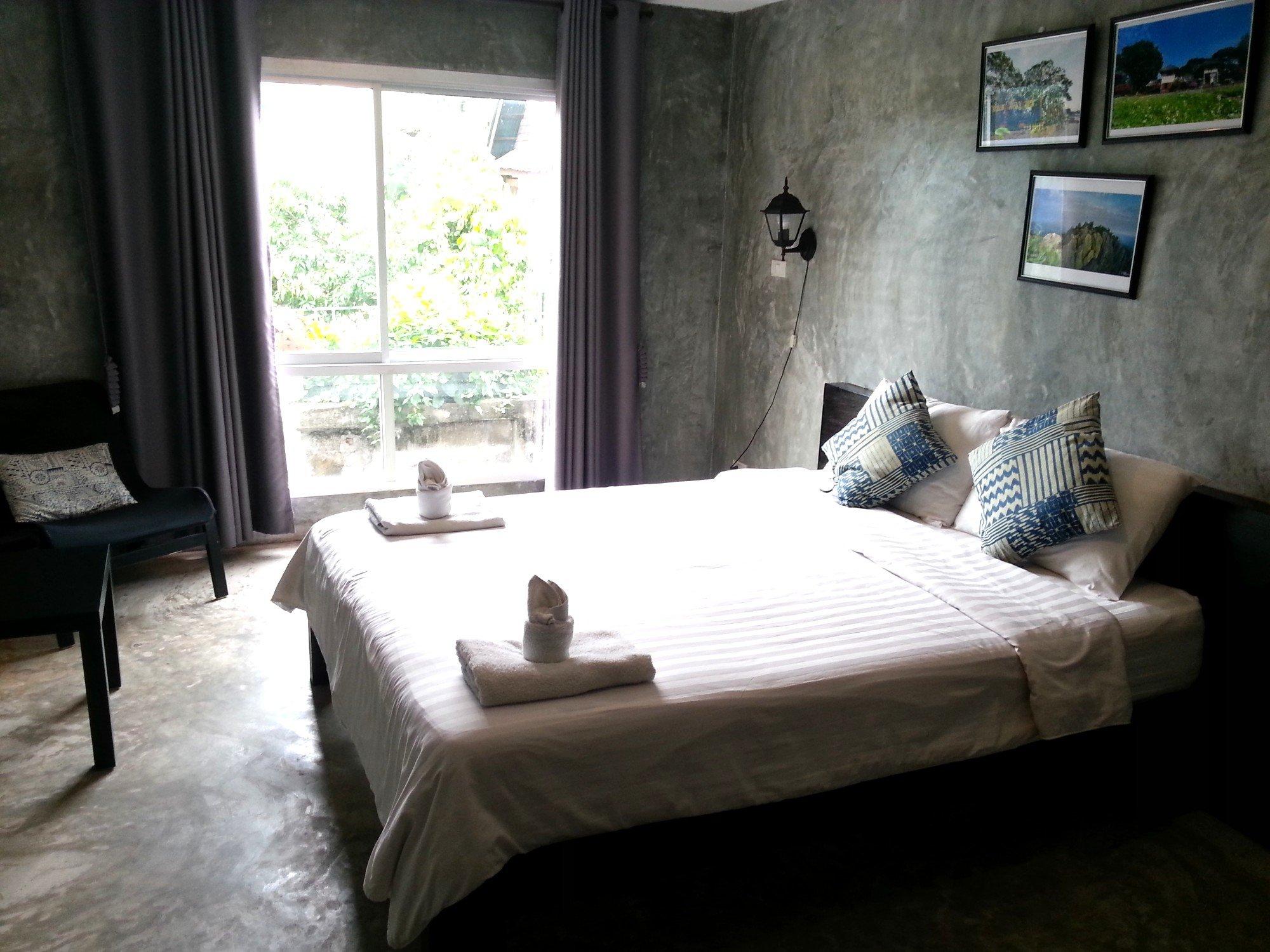 Bedroom at Come Moon Loft Hotel