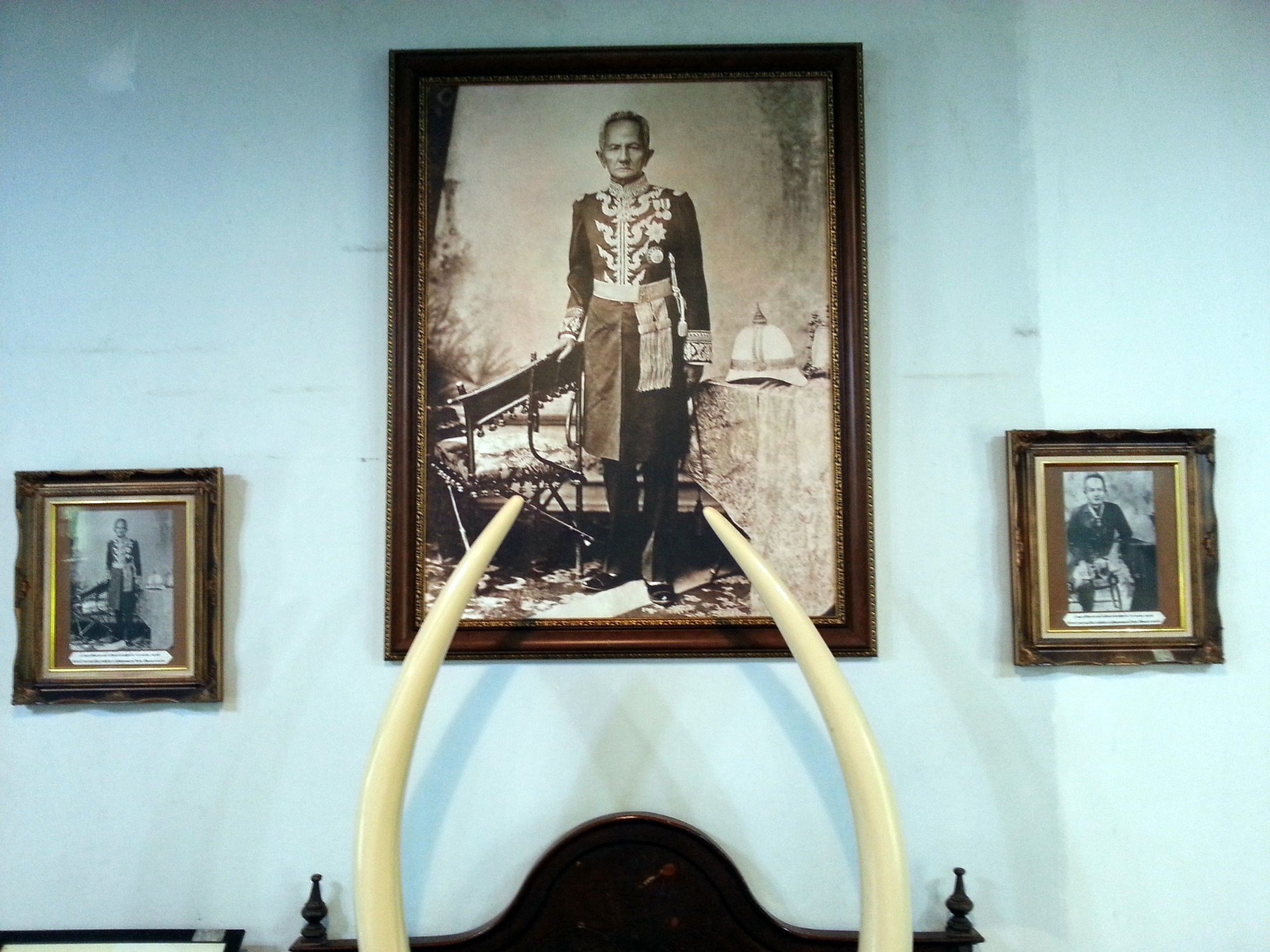Portrait of the Chao Luang at Khum Chao Luang Museum