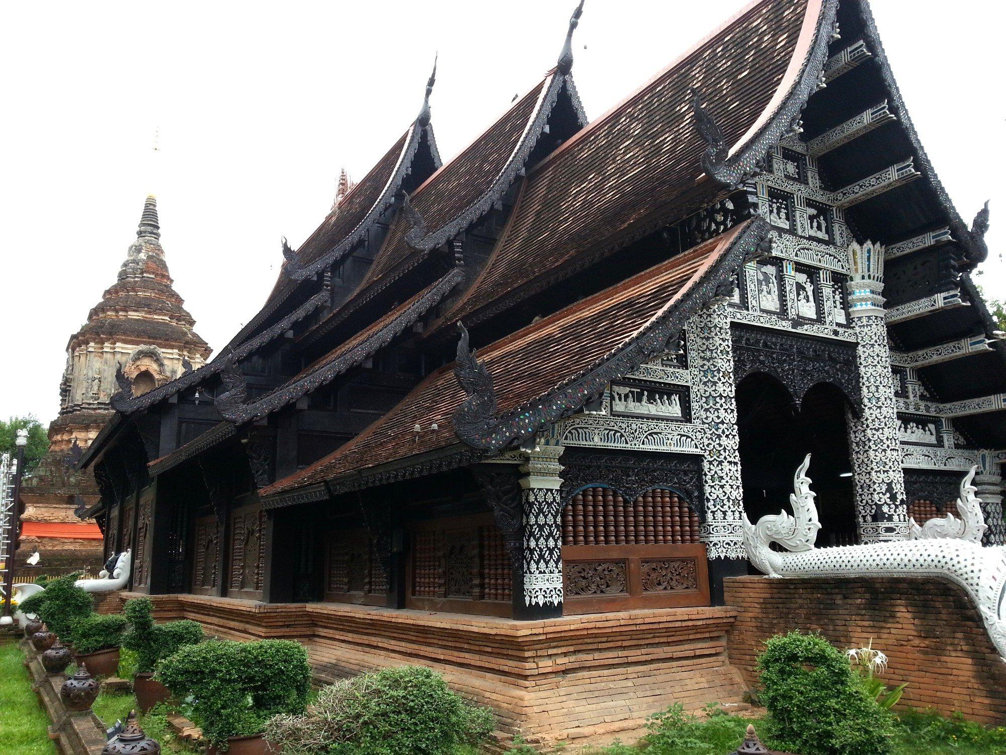 Assembly Hall at Wat Lok Moli