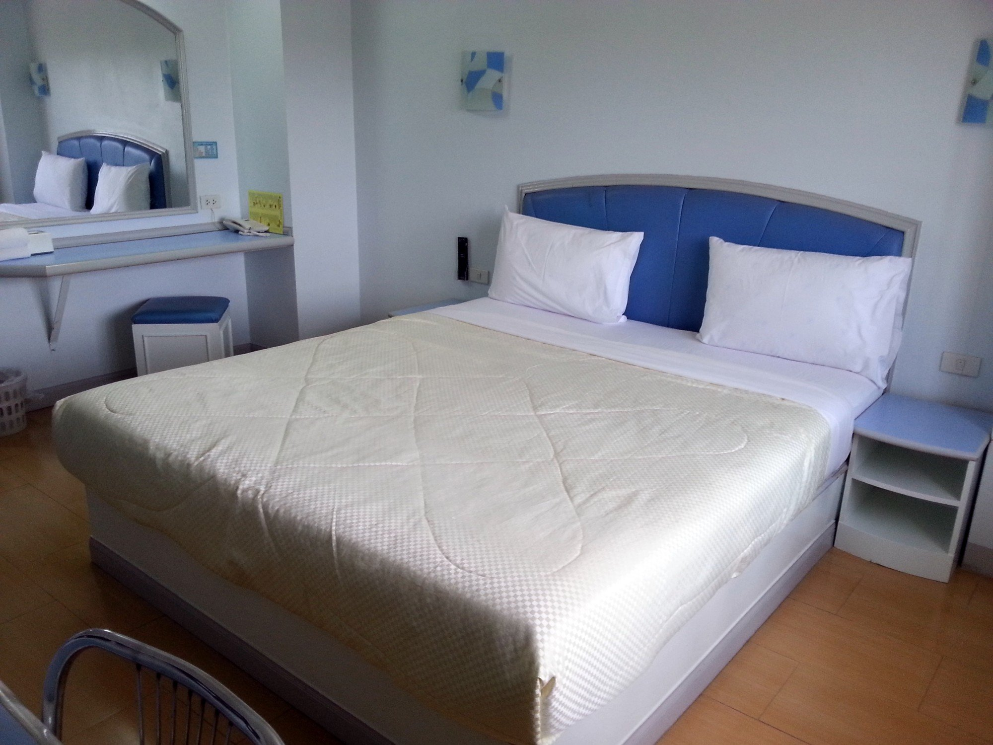 Bed at the P.A. Ville Hotel