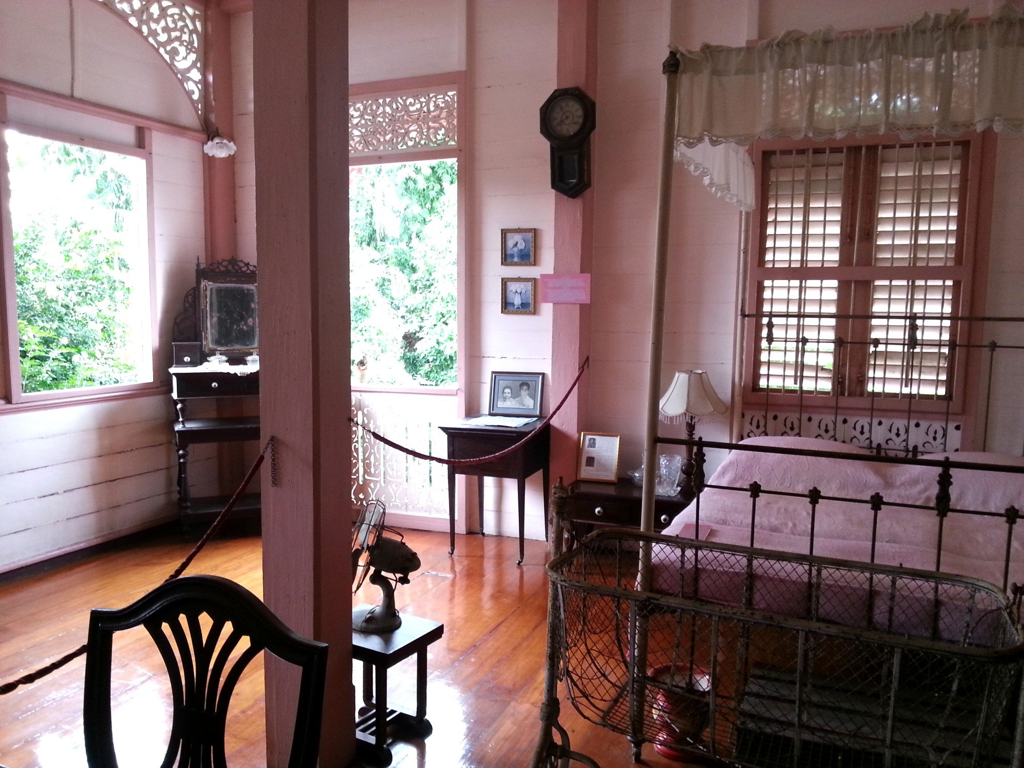 Bedroom at the Vongburi House Museum