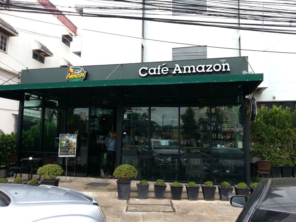 Coffee shop by the U-Thong Hotel