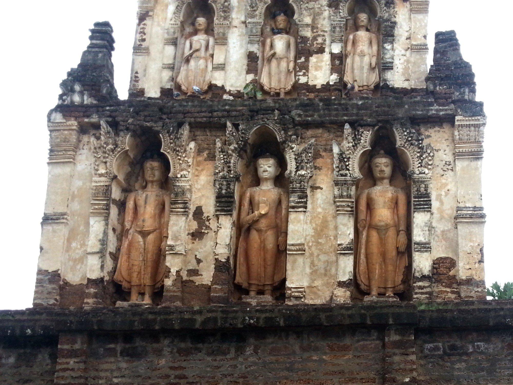Detail on the Suwan Chang Kot Chedi