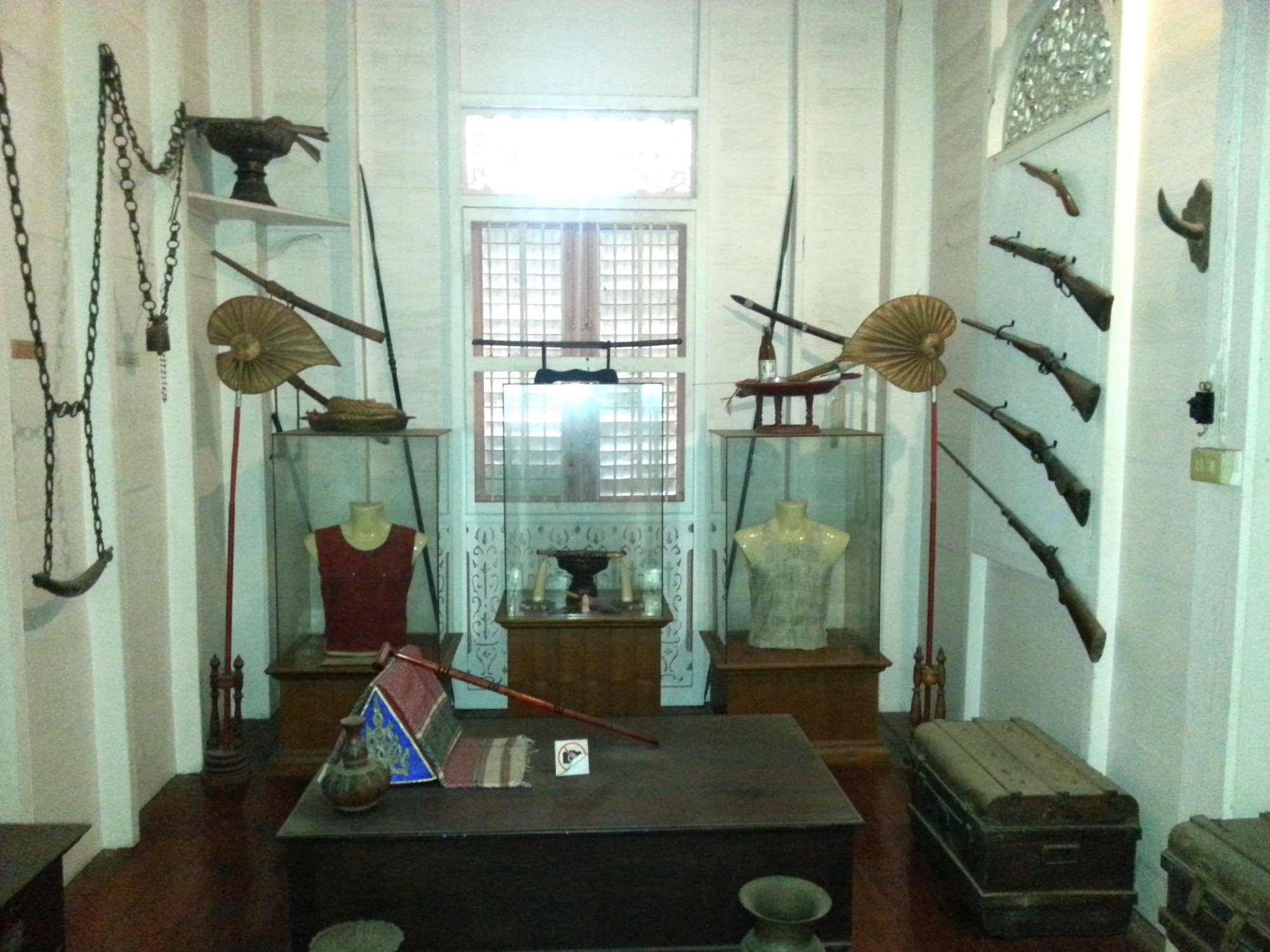 Display at the Vongburi House Museum