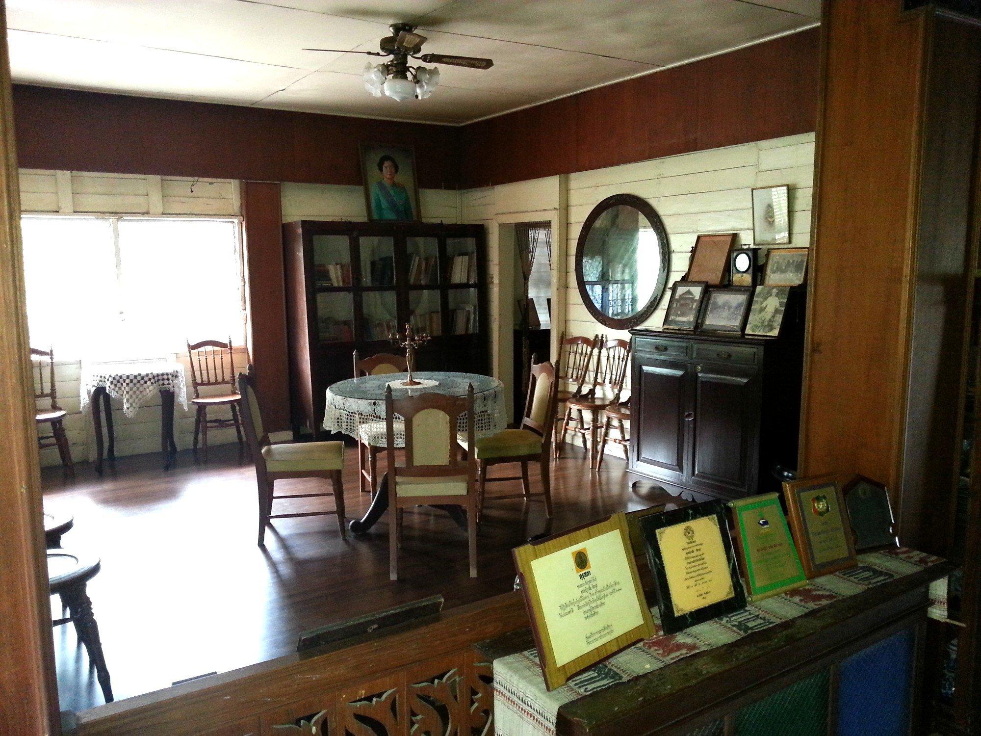 Drawing room at Baan Sao Nak