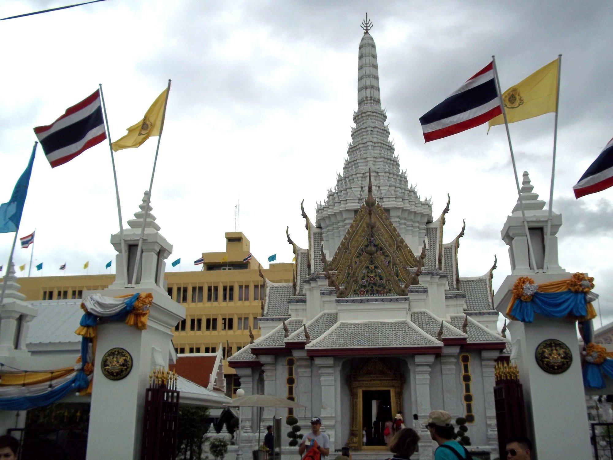 Entrance to Bangkok City Pillar Shrine