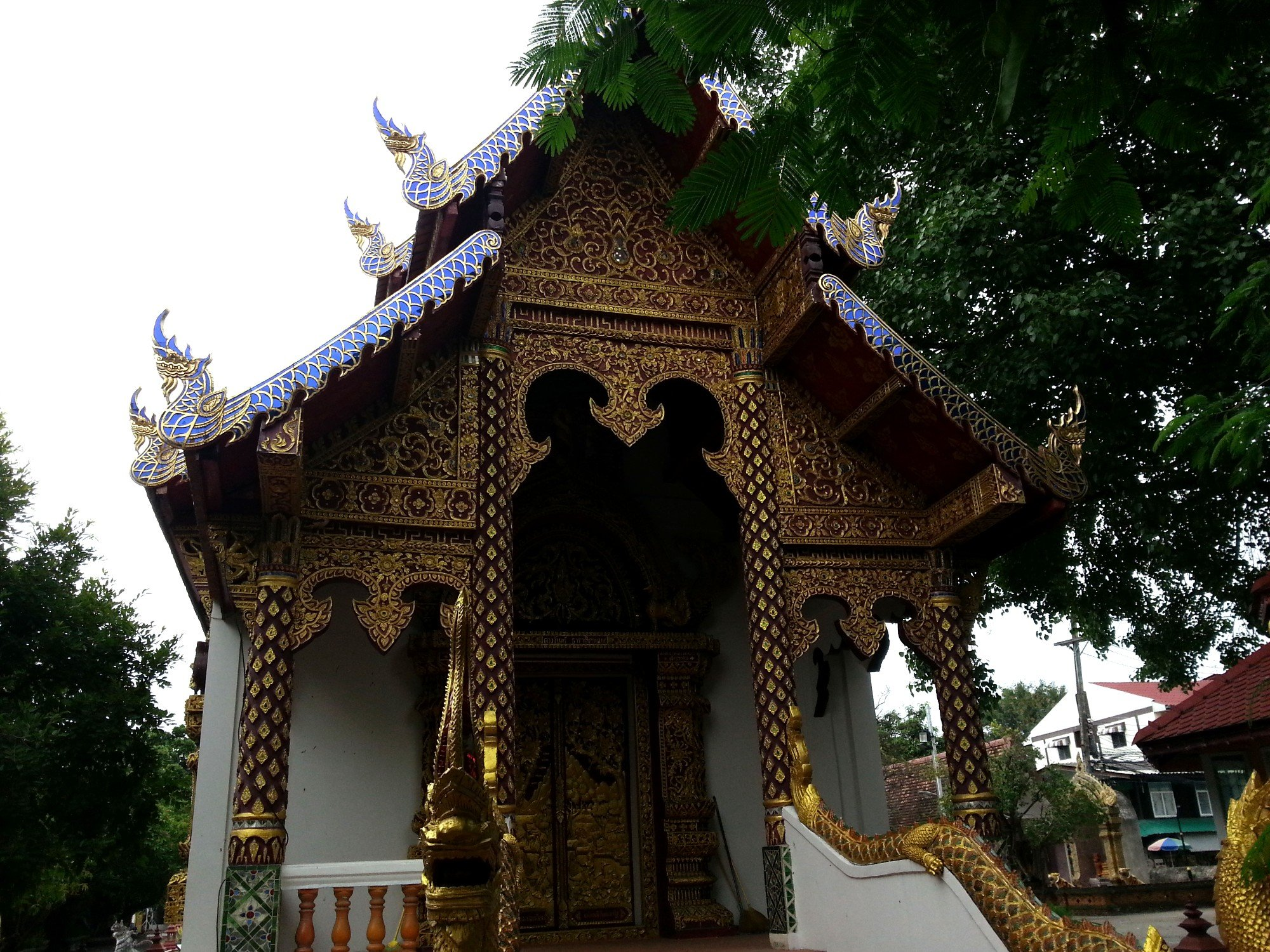 Front of the Ordination Hall at Wat Prasat