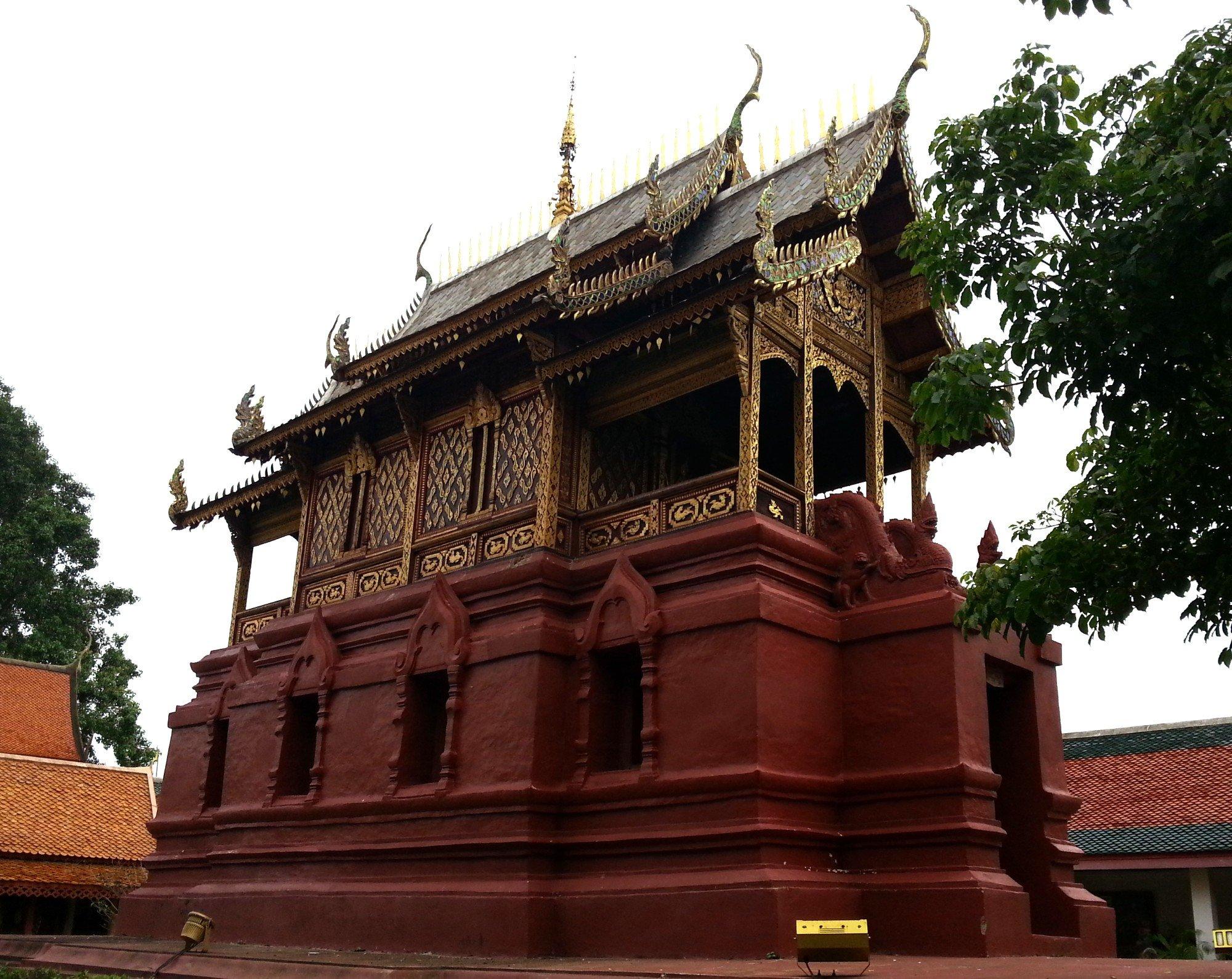 Library at Wat Phra That Hariphunchai