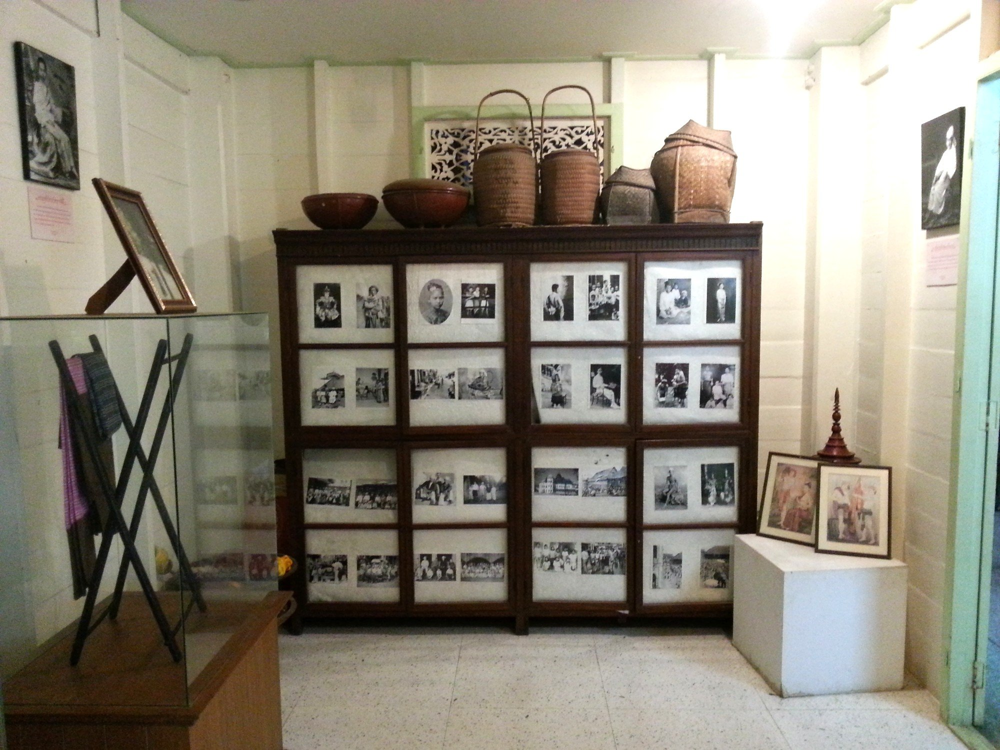 Old photographs at the Vongburi House Museum
