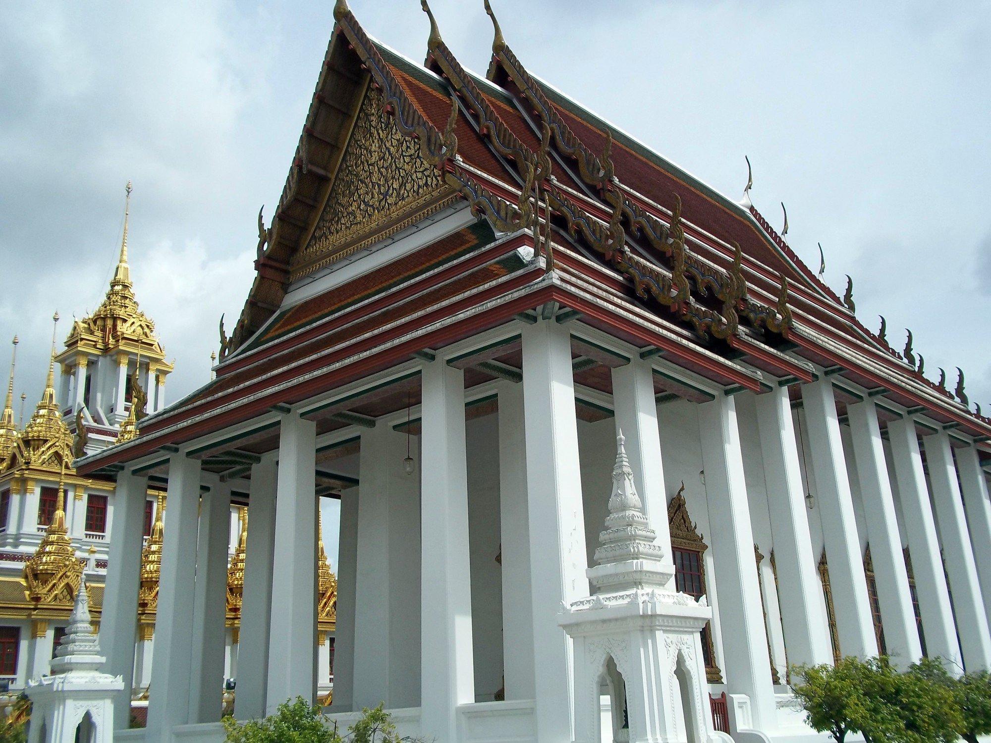 Ordination Hall at Wat Ratchanatda