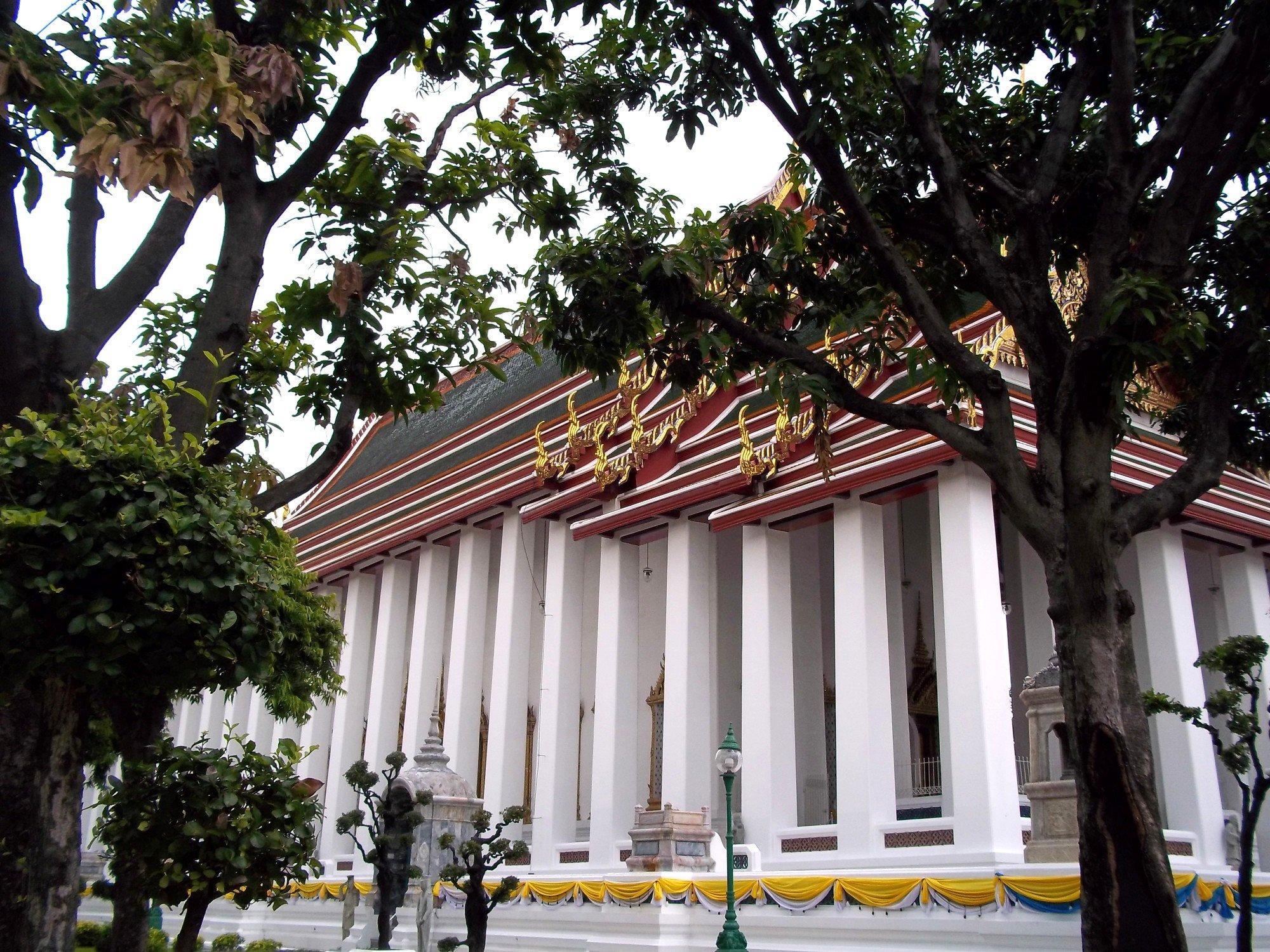 Ordination Hall at Wat Suthat Thepwararam