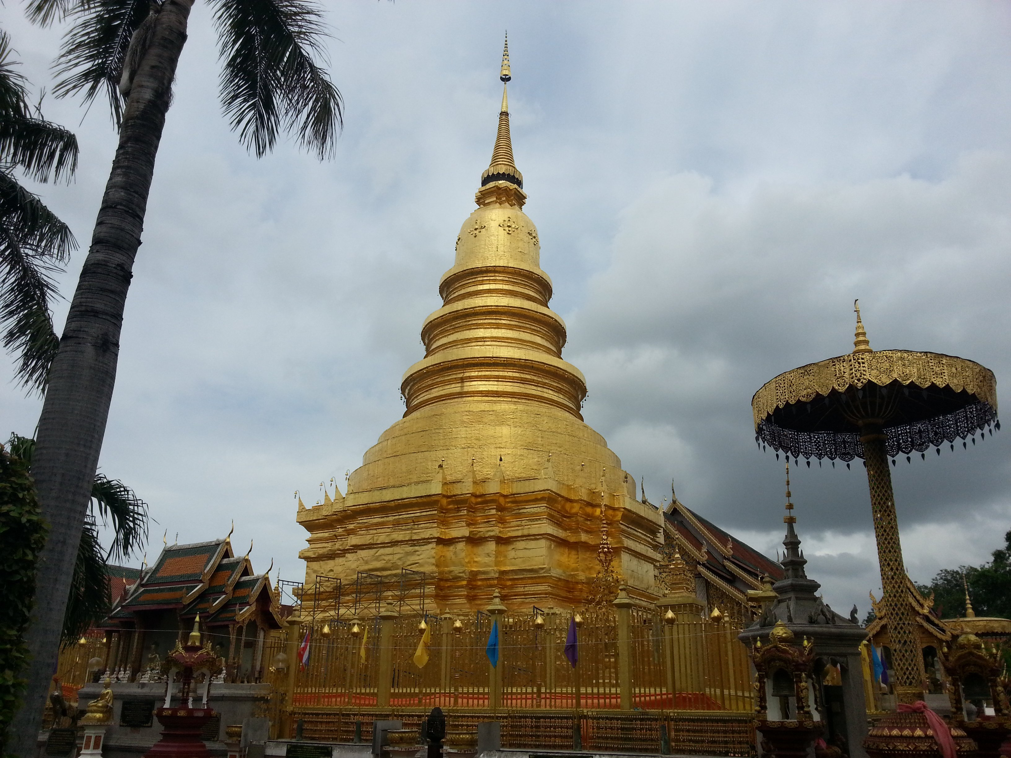 Phra Maha That Chedi at Wat Phra That Hariphunchai