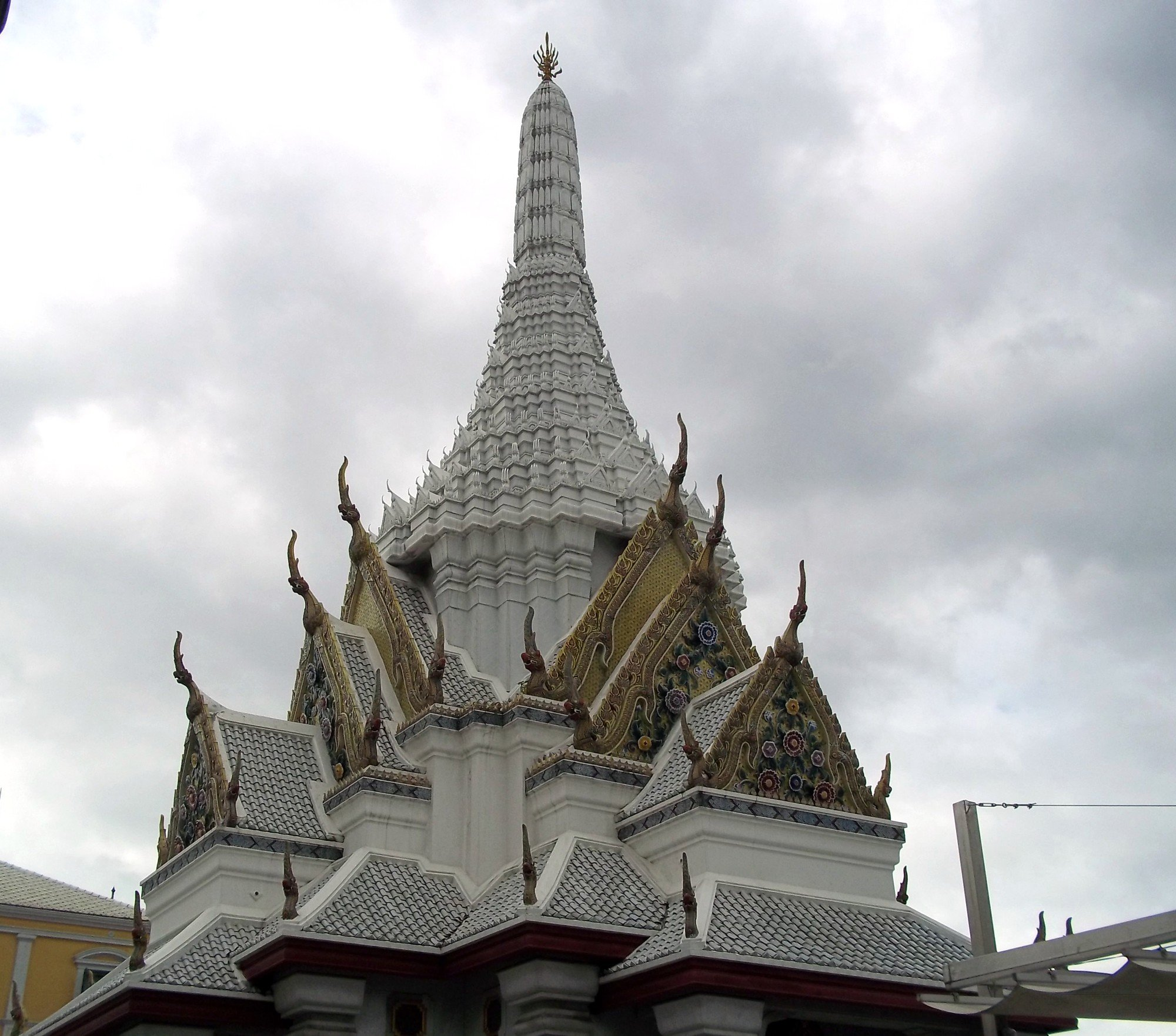 Roof of the Bangkok City Pillar Shrine