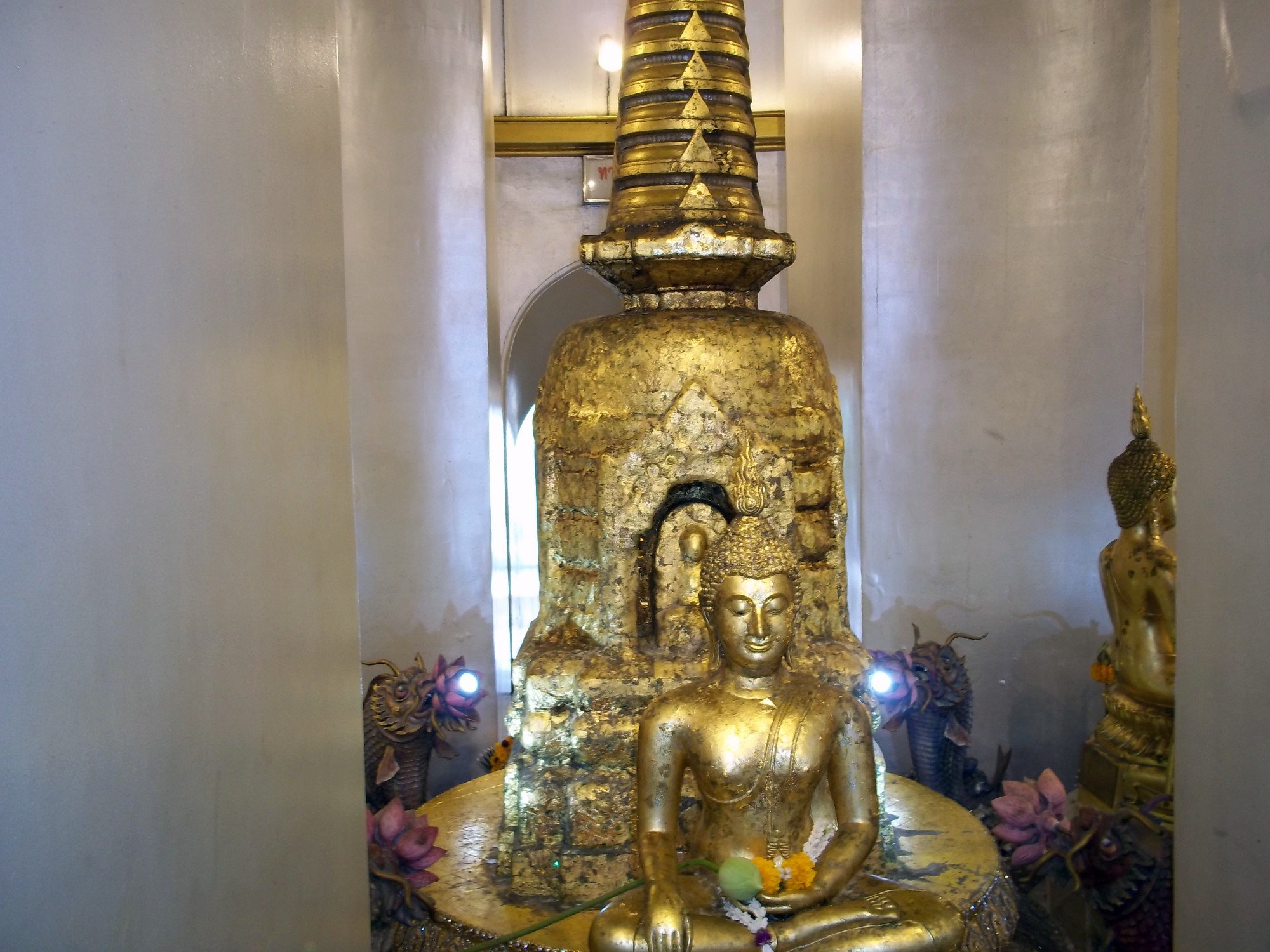 Shrine on the Golden Mount at Wat Saket
