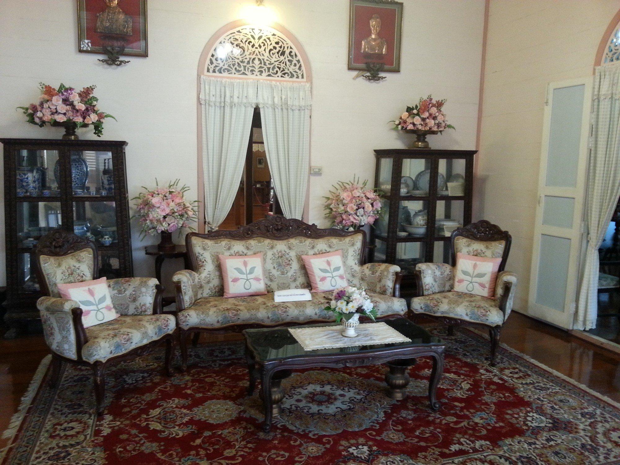 Sitting room at the Vongburi House Museum