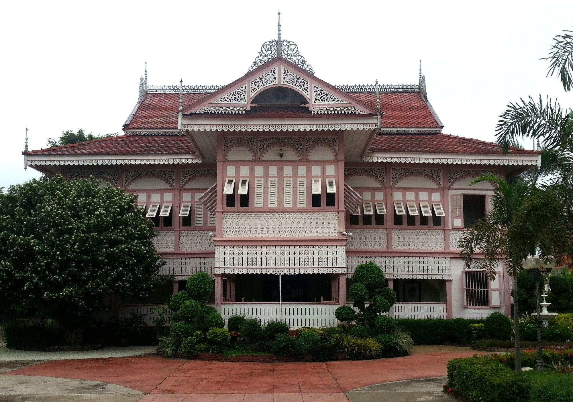 Vongburi House Museum in Phrae