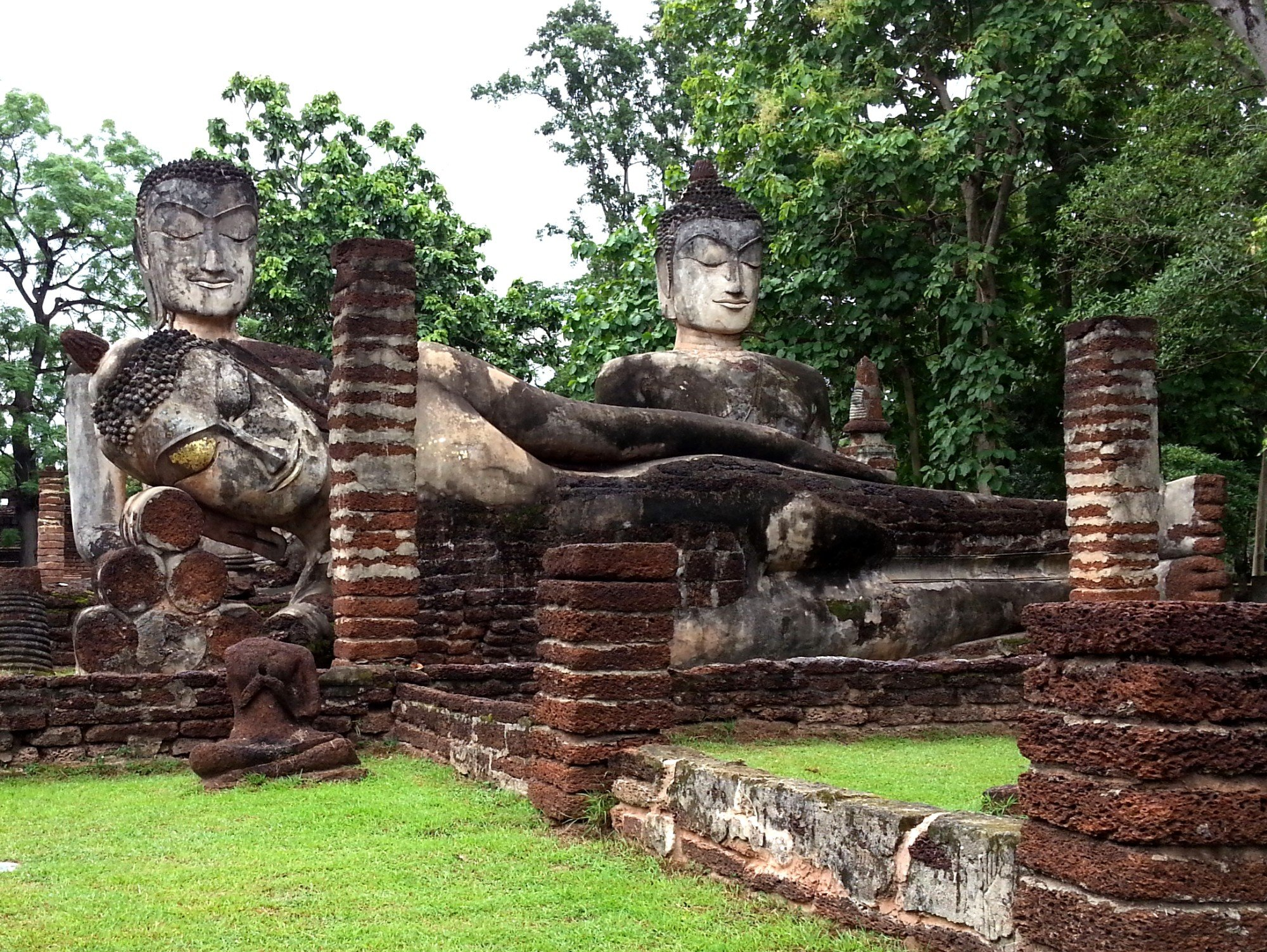 Buddha statues at Wat Phra Kaew