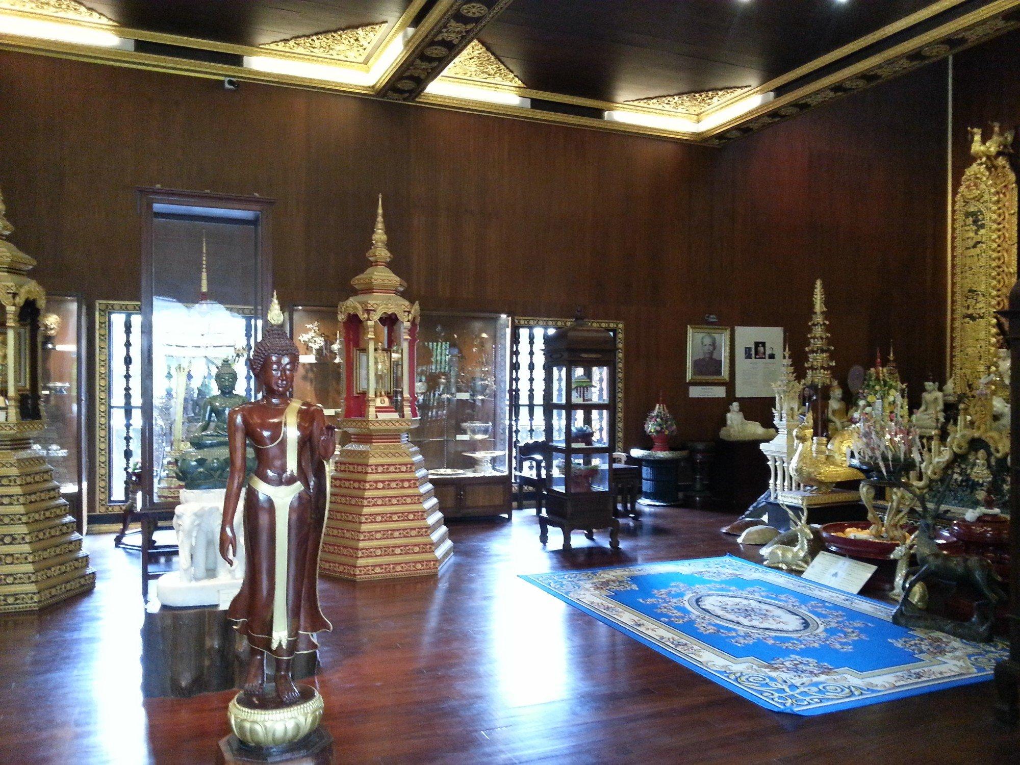 Inside the museum at Wat Phra Kaew