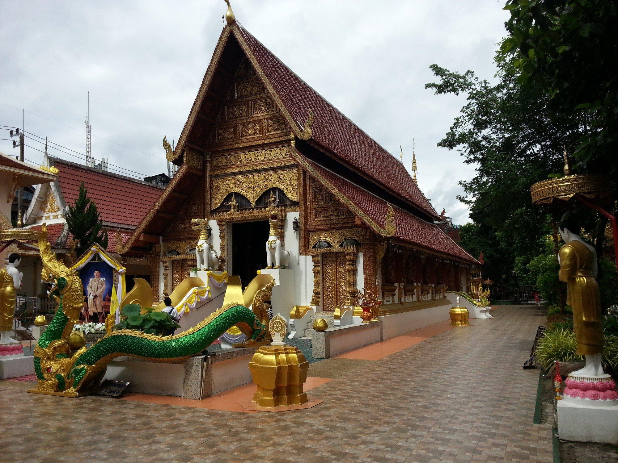 Ordination Hall at Wat Phra Sing