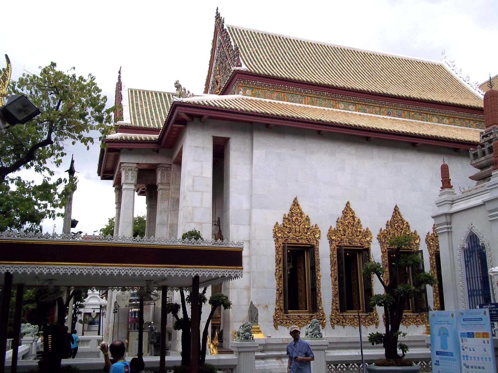 Ordination hall at Wat Bowonniwet