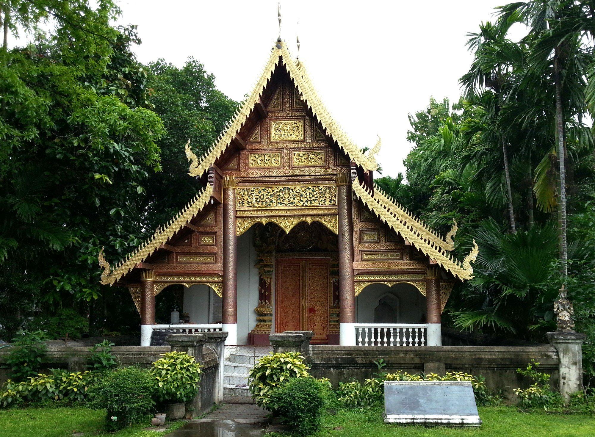 Ordination hall at Wat Chiang Man