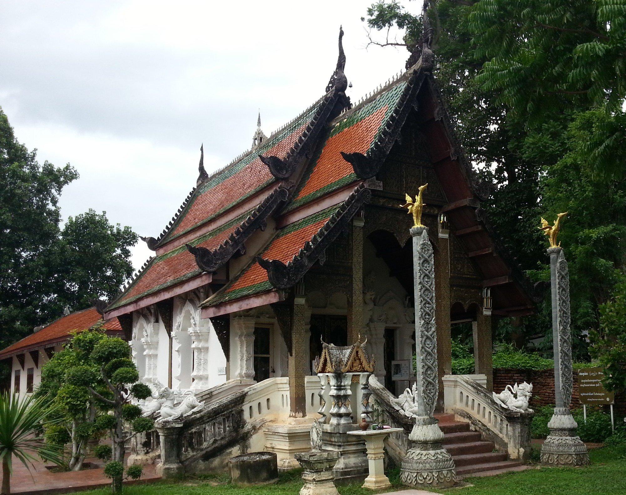 Ordination hall at Wat Pratu Pong