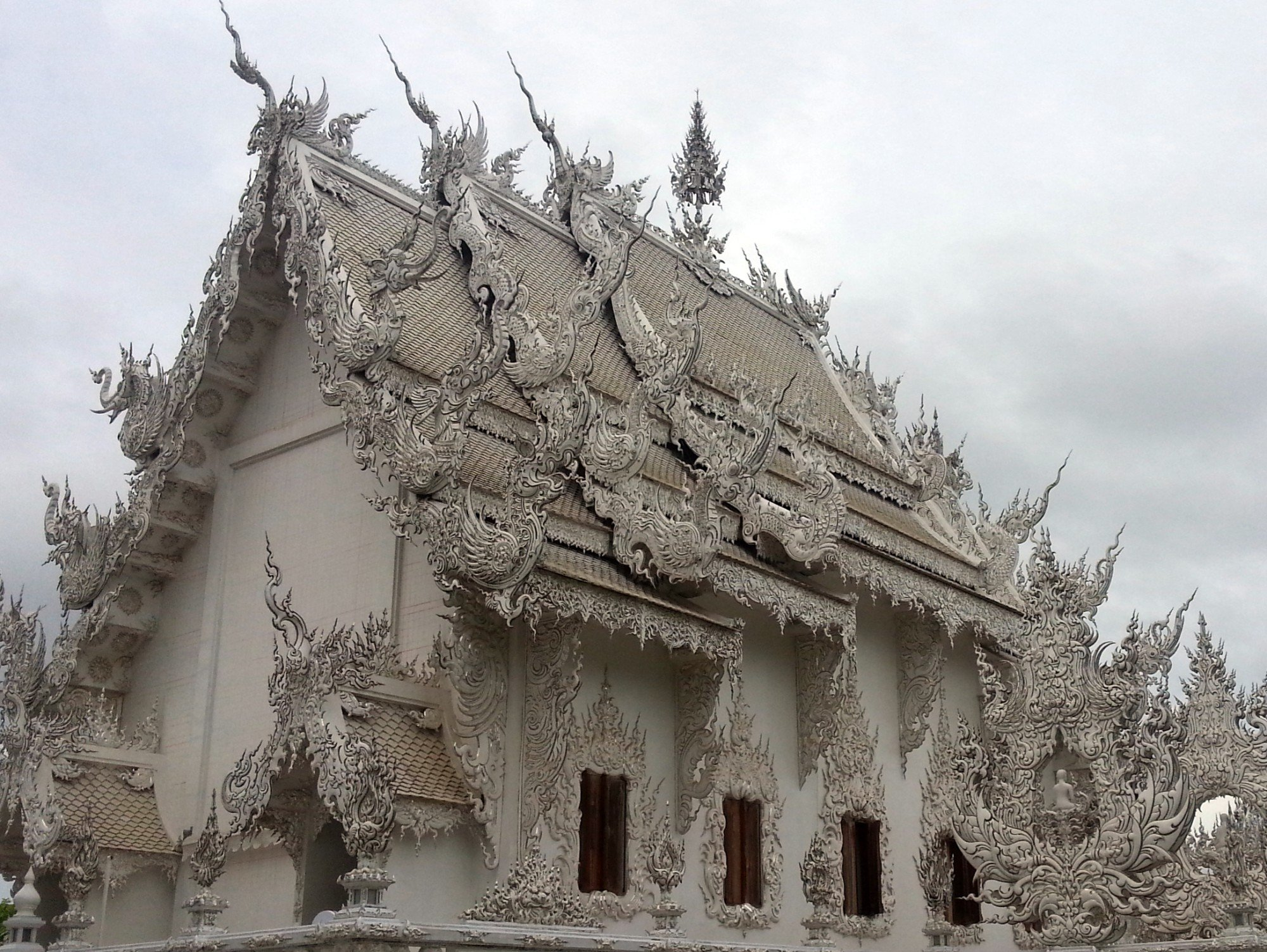 Ordination hall at the White Temple
