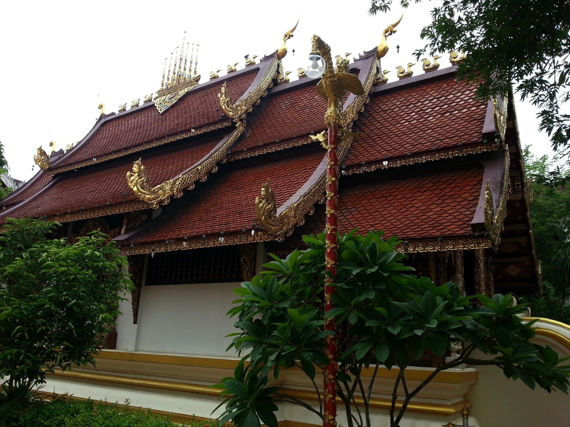 Prayer hall at Wat Phra Sing