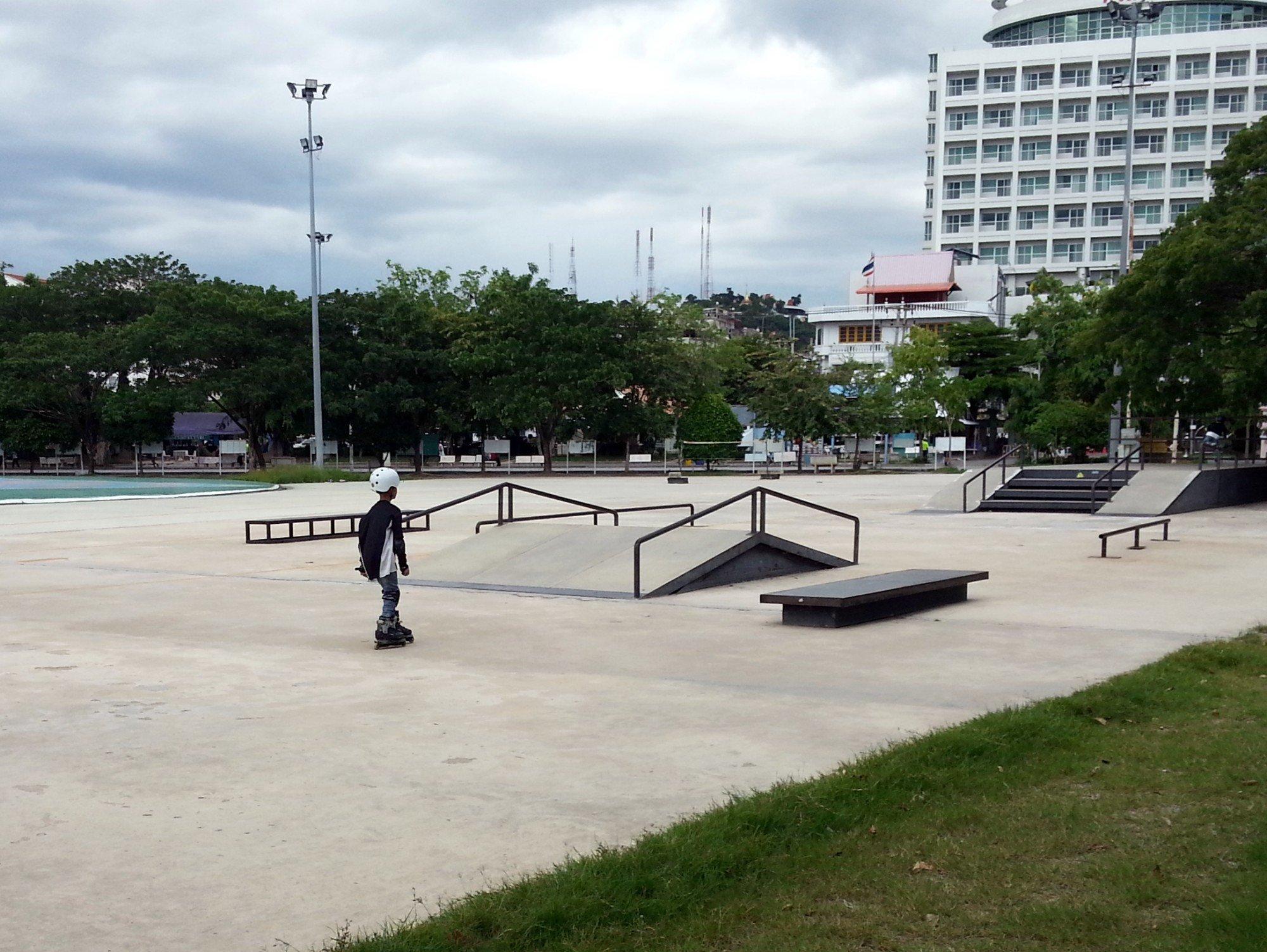 Skate park in Paradise Park