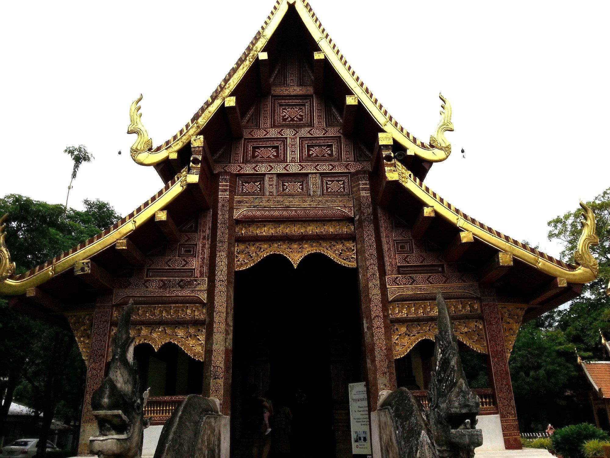 Viharn Lai Kham at Wat Phra Singh