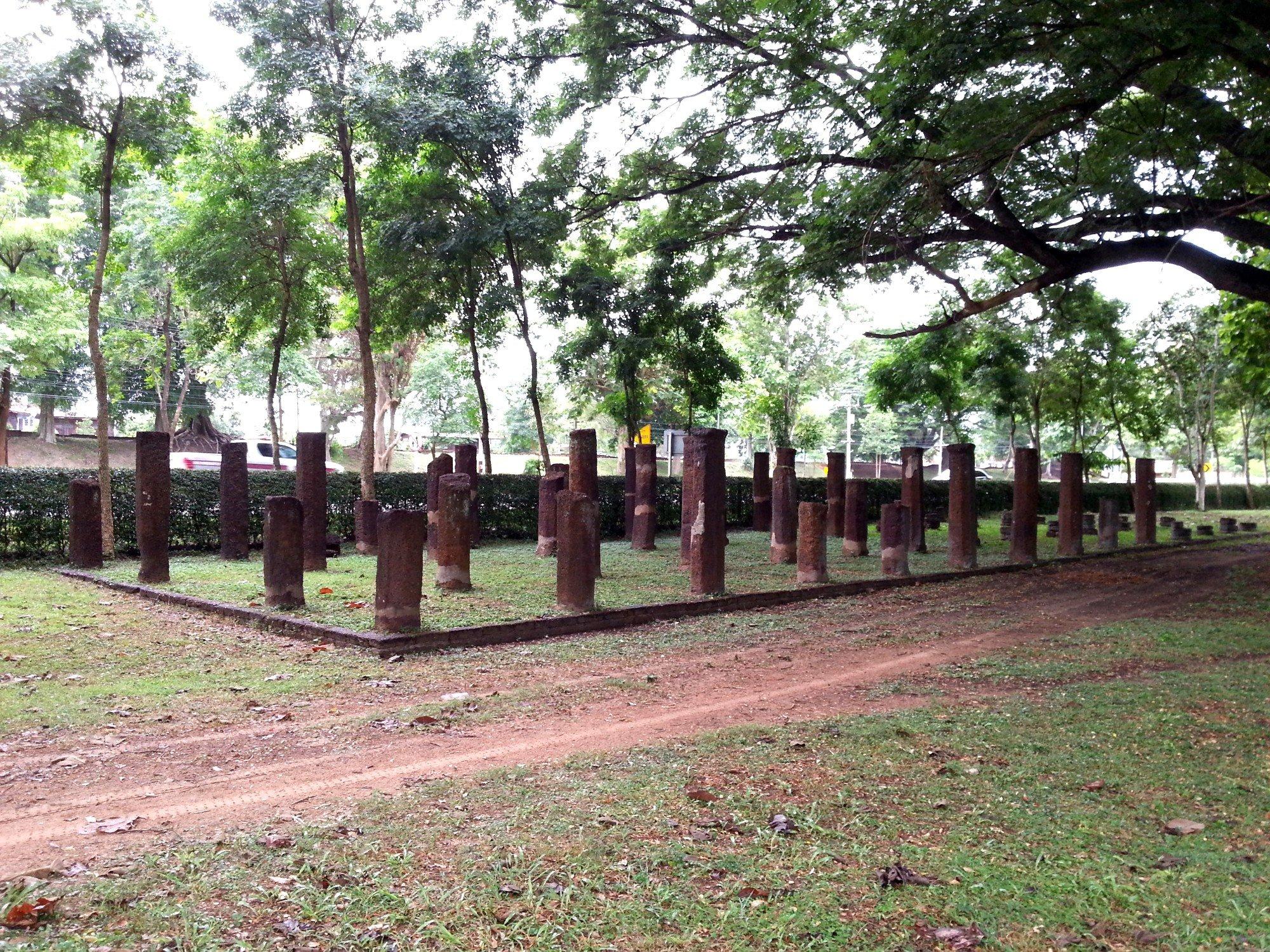 Wat Pa Sak at Kamphaeng Phet Historical Park