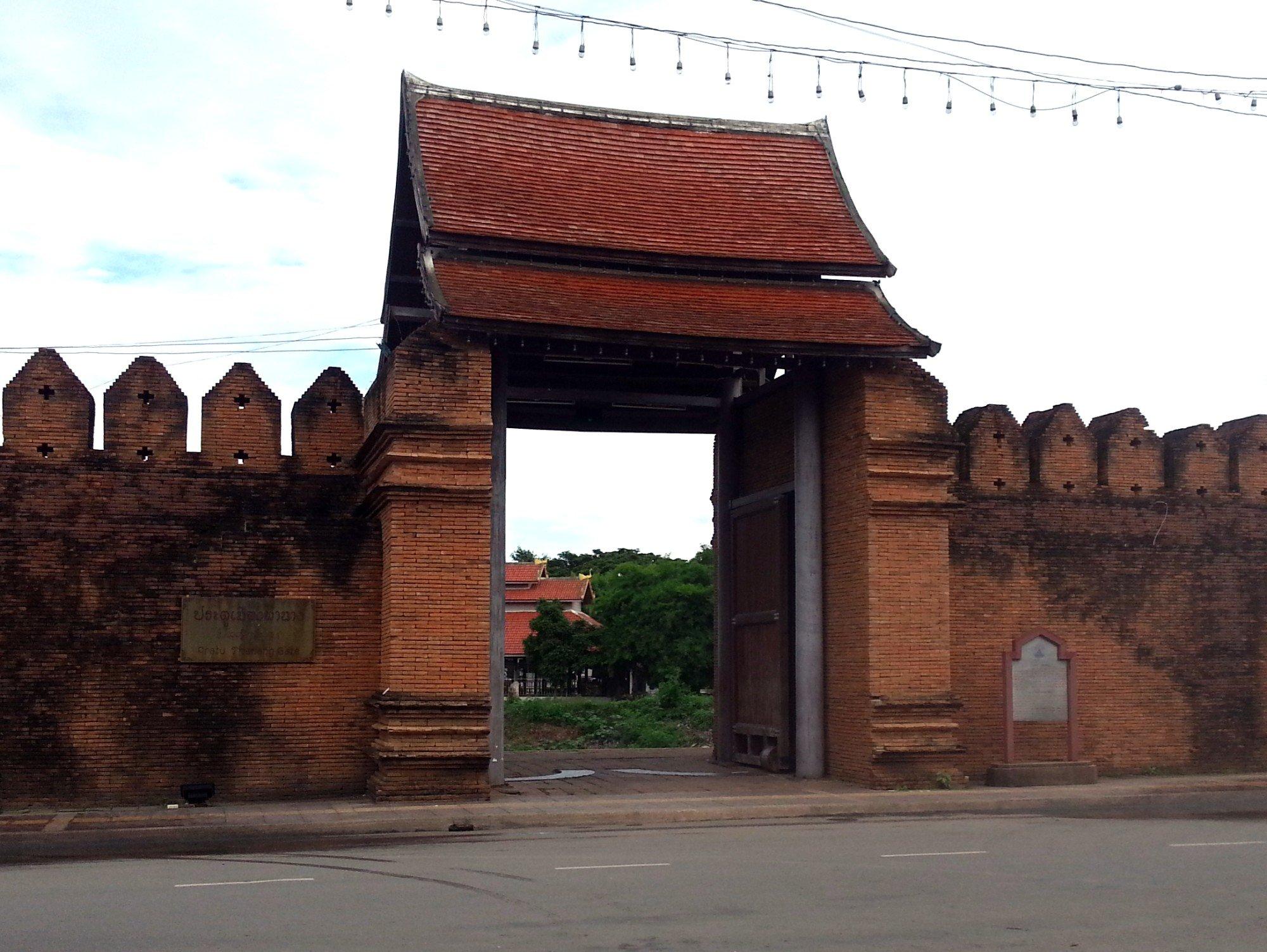 Tha Nang Gate in Lamphun