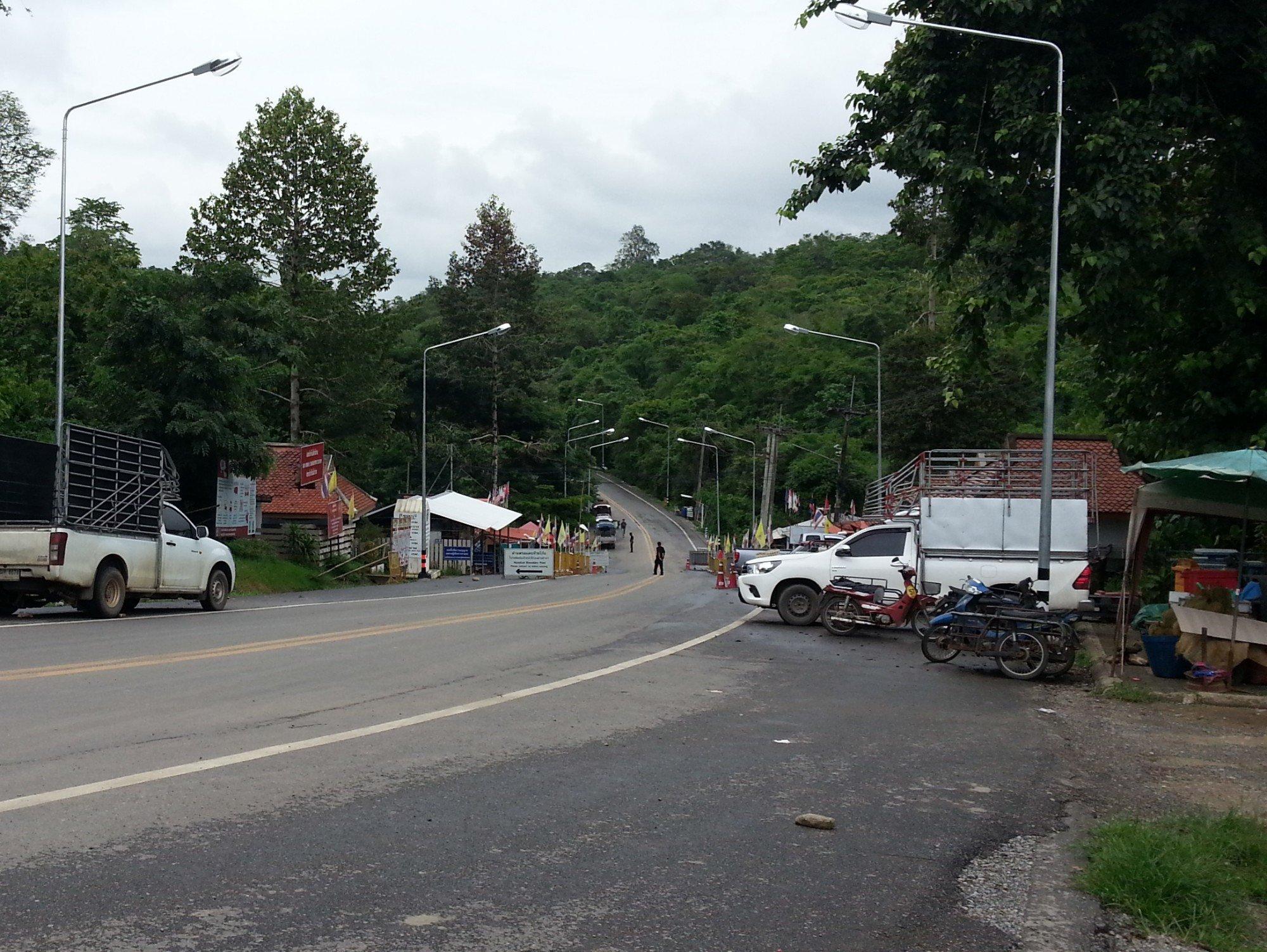 Huai Kon Border Crossing