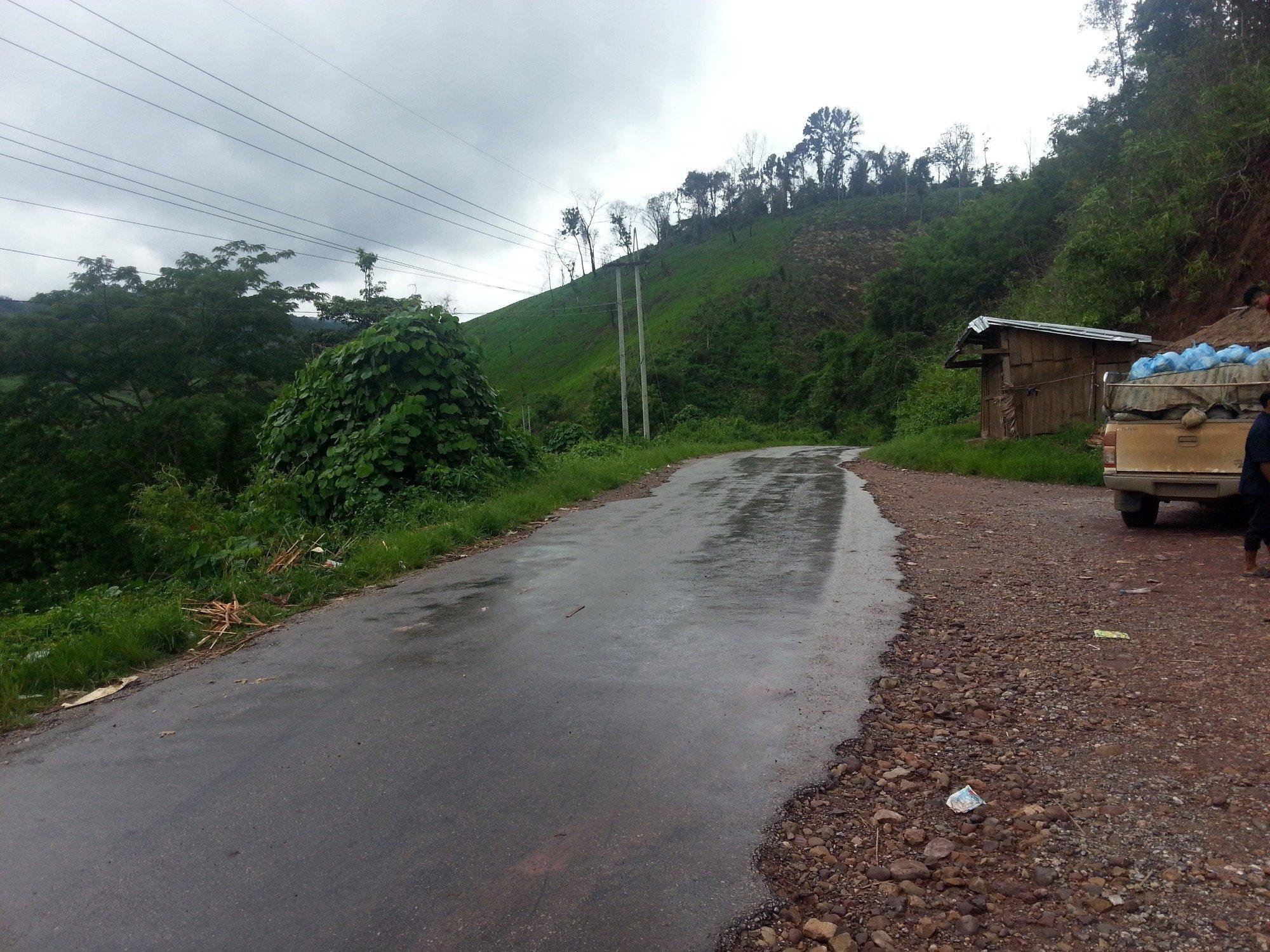 Road to Xayaboury