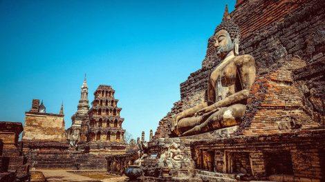 Wat Mahathat at Sukhothai Historical Park