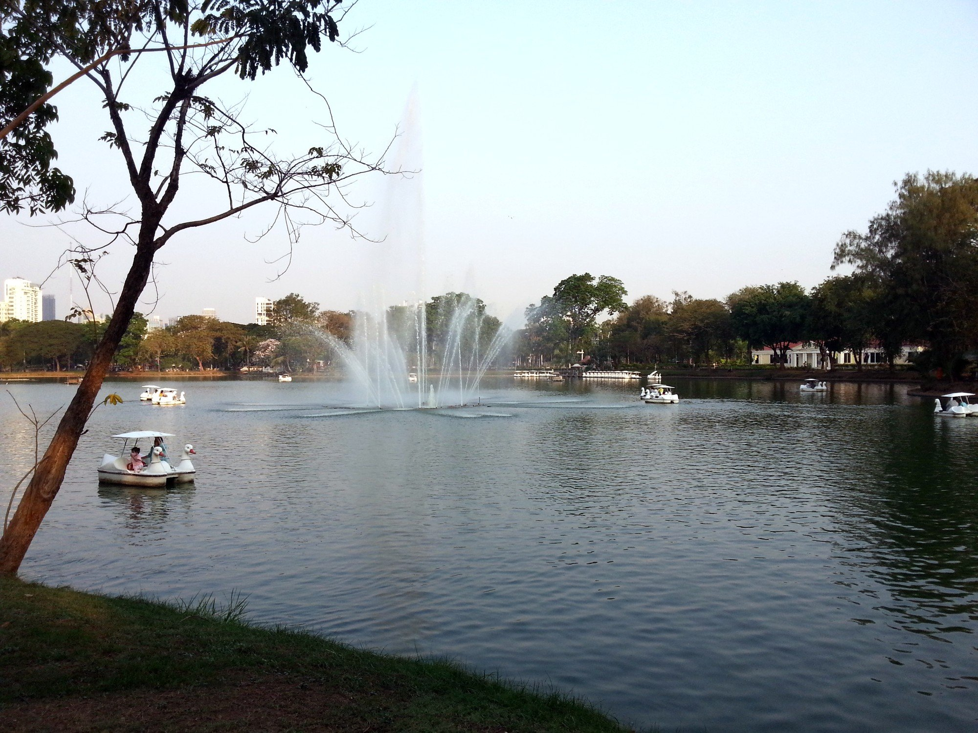 Boating Lake in Lumphini Park
