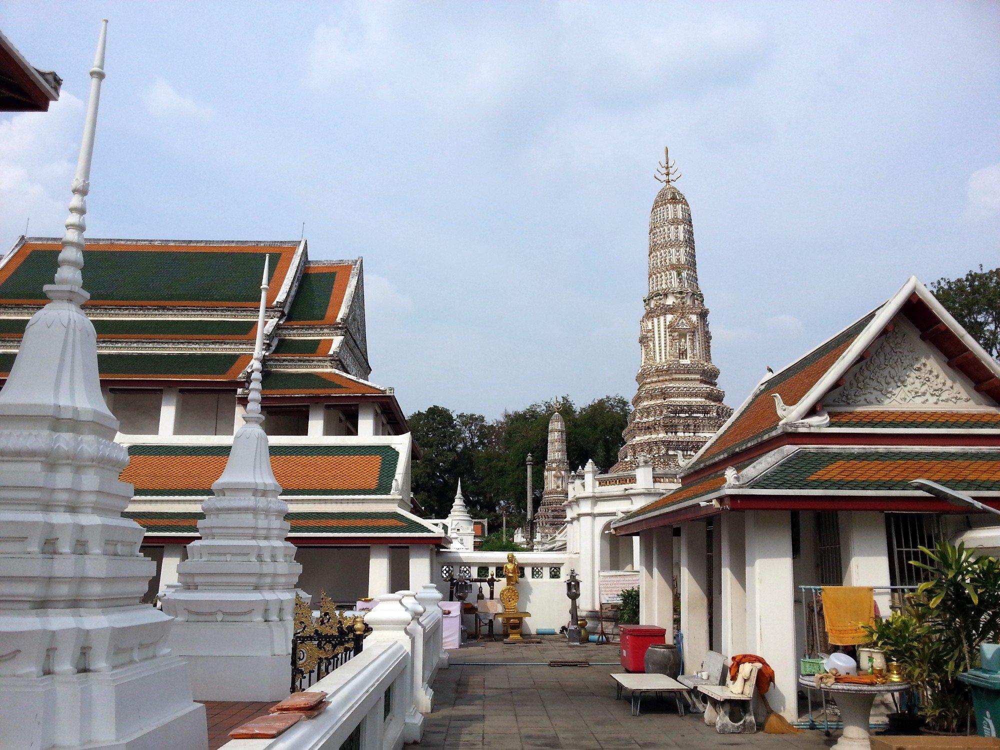 Khmer style prang at Wat Thepthidaram