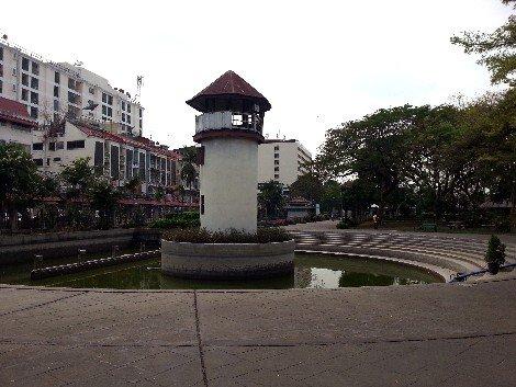 Observation tower at Rommaninat Park