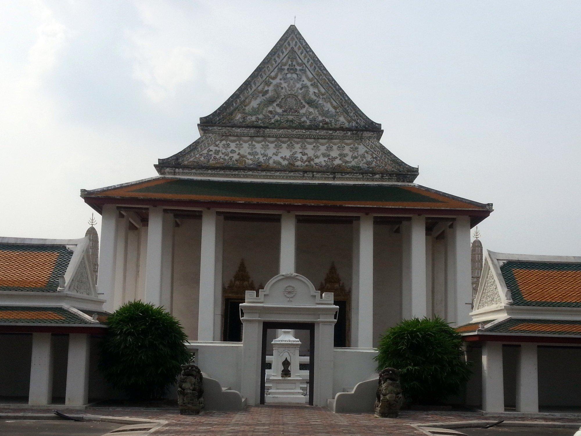 Ordination Hall at Wat Thepthidaram