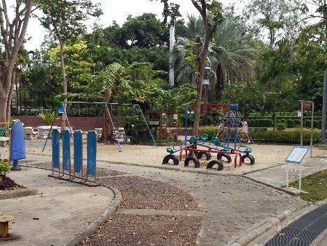 Playground at Rommaninat Park