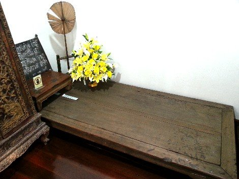 Poet's former bedroom at the Sunthorn Phu Museum